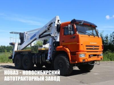 Автогидроподъемник АГП-29РТ на шасси КамАЗ 43118 рычажно-телескопического типа