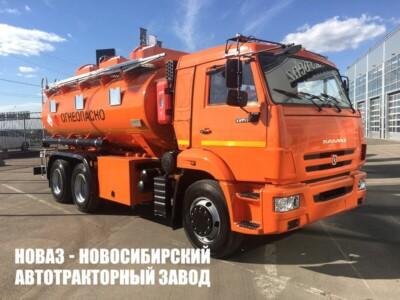 Бензовозы КАМАЗ в Красноярске и Иркутске