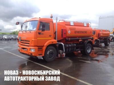 Бензовозы КАМАЗ в Москве и Санкт-Петербурге