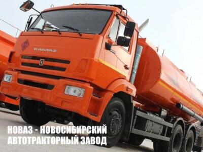 Бензовозы КАМАЗ в Омске и Барнауле