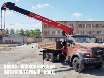 Бортовой автомобиль Урал NEXT 73945-6921-01 с КМУ Fassi F115T