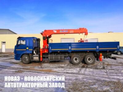 Бортовой КАМАЗ 65117 с КМУ Kanglim KS2056H (ЕВРО 5) новый