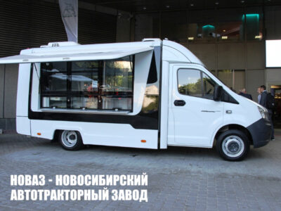Фургоны-автолавки ГАЗель Бизнес и NEXT