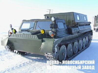 Гусеничный снегоболотоход ГАЗ-34039-22 и спецтехника на его базе
