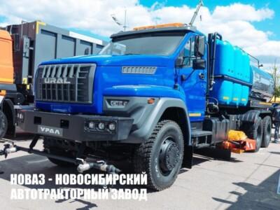 Комбинированный автогудронатор АСК-73945 на шасси Урал-73945-6921-01М36