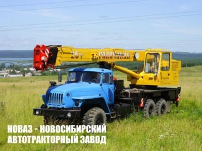 Купить автомобильный кран на базе Урал