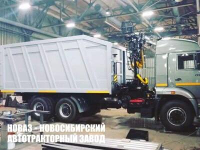 Ломовоз КАМАЗ-65115-773962-50 с КМУ ММ-100S или ММ-110S