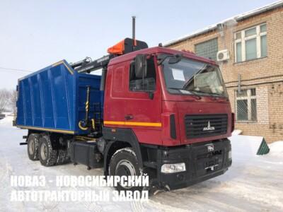 Ломовоз на базе МАЗ 6312С9 с манипулятором МАЙМАН-110S