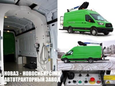 Передвижная мастерская на базе Ford Transit 460 L4H3 с автогидроподъемником АГП-15Т