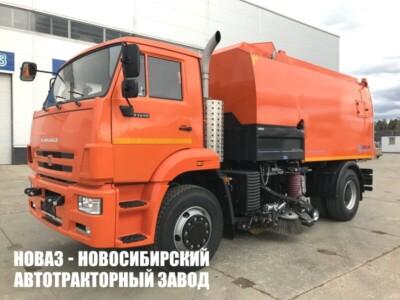 Подметально-уборочная машина USTUN-EL на базе КАМАЗ 53605