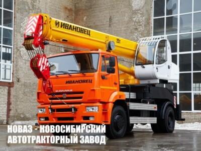 Приобретение автокранов на шасси КАМАЗ