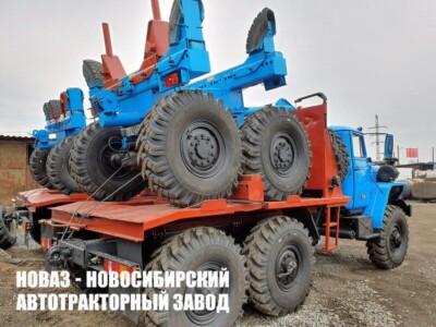 Трубоплетевозные тягачи Урал
