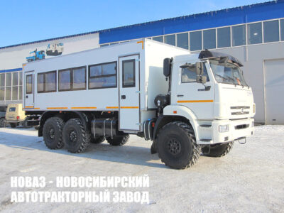 Вахтовый автобус 28 мест на шасси КамАЗ 43118-50