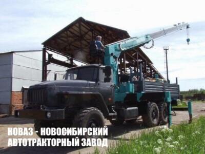 Автомобиль бортовой Урал 4320-60 специальный с КМУ Hankook HKTC HLC-8026S