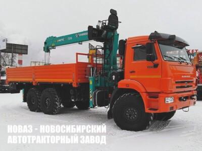 Бортовой автомобиль КАМАЗ-43118-50 с манипулятором HKTC HLC-7016L