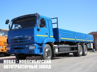 Бортовой грузовик КАМАЗ 65117-6010-80(RS) с платформой 7800х2470х730 мм