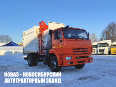 Мусоровоз с боковой загрузкой МКМ-50-18 (МБ-18) на базе КАМАЗ 53605-3950-48