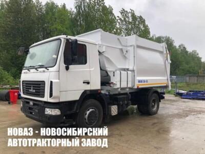 Мусоровоз с боковой загрузкой МКМ-50-18 (МБ-18) на базе МАЗ 534025-525-013