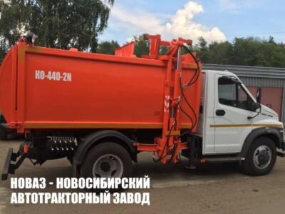 Мусоровоз с боковой загрузкой на базе ГАЗ-C41R13 КО-440-2N