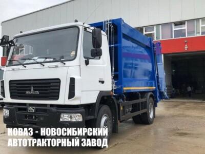 Мусоровоз с задней загрузкой МКЗ-50 18 м³ на базе МАЗ 534025
