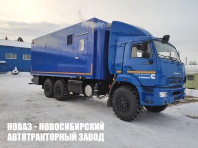 Передвижная водогрейная установка на базе КАМАЗ 43118-80 (RS)