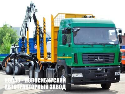 Лесовоз МАЗ 631228-8527-012 с манипулятором Р97М или Майман-110S