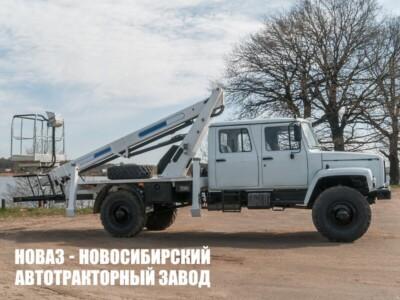 Автовышка АГП-18Т на базе ГАЗ 33081 Садко