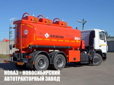 Бензовоз ГРАЗ 56215-0000010-S на базе МАЗ 6312C3