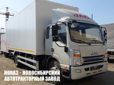 Изотермический фургон JAC N120L с платформой 7400х2600х2500 мм