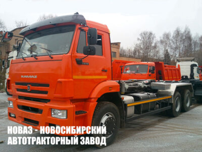 Мультилифт HyvaLift 20-57-S TITAN на базе КАМАЗ 6520