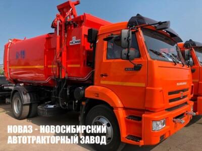 Мусоровоз с боковой загрузкой КО-449-19 на базе КАМАЗ 43253-69