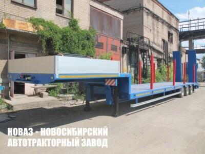 Низкорамный полуприцеп-тяжеловоз ЧМЗАП 99064 042-02 ВУ5 ПП4