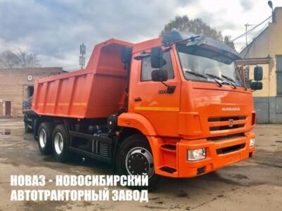 Самосвал КАМАЗ 65115-6058-48 грузоподъемностью 15000 кг
