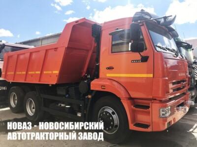 Самосвал КАМАЗ 65115-606058-48 грузоподъемностью 15000 кг