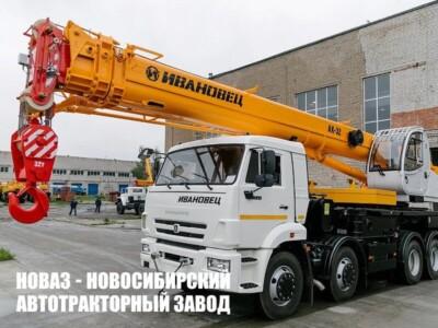 Автокран КС-55717К-1 Ивановец на базе КАМАЗ 6540
