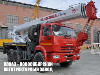 Автокран КС-55732-25-28 Челябинец на базе КАМАЗ 43118-50 модели 4101