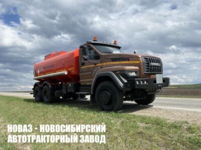 Бензовоз 17 м³ (3 секции) на базе Урал NEXT 73945-01 модели 5999