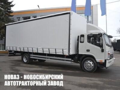 Тентованный грузовик JAC N120L с платформой 8400х2550х2800 мм