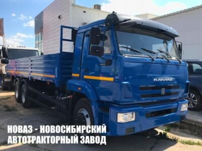 Бортовой автомобиль КАМАЗ 65117-26010-50 с платформой 7800х2470х730 мм