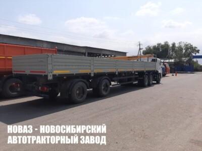 Бортовой полуприцеп НЕФАЗ-9334-0014120-12