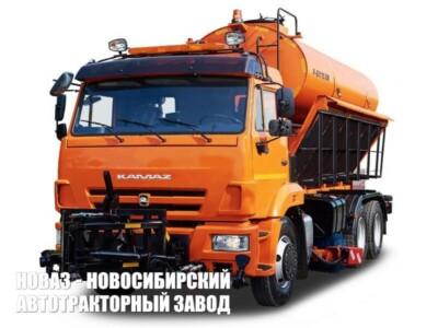 Комбинированная дорожная машина Р-45.115 на базе КАМАЗ-65115