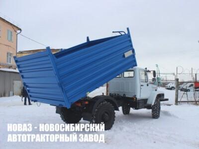 Самосвал ГАЗ-САЗ-2506 на базе ГАЗ-33086 Земляк