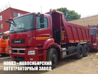 Самосвал КАМАЗ 6580-002-87