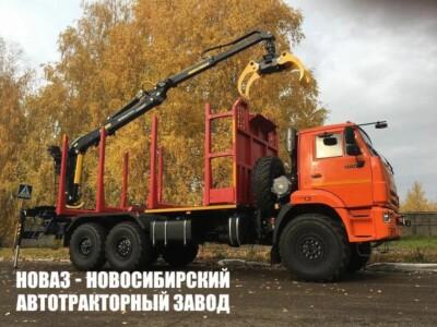 Лесовоз КАМАЗ-43118 с манипулятором ВЕЛМАШ VM10L74 модели 659108-0042039-66
