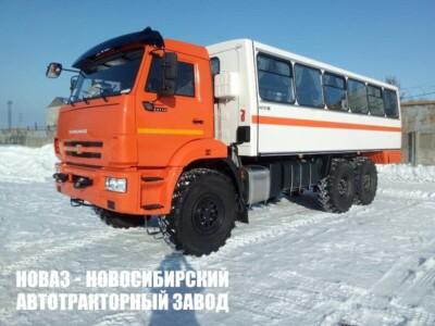 Вахтовый автобус НЕФАЗ 4208-3027-50 на базе КАМАЗ 43118
