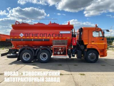 Автотопливозаправщик 15 м³ (3 секции) на базе КАМАЗ 65115 модели 3957