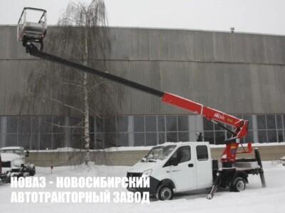 Автогидроподъемник T318 на базе ГАЗель NEXT A22R22 с рабочей высотой 18 м