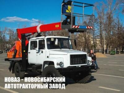 Автовышка T320 на базе ГАЗ 33098 с рабочей высотой 20 м