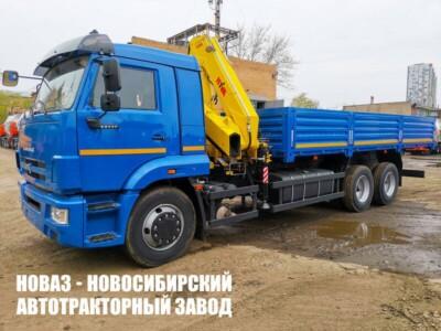 Грузовой автомобиль КАМАЗ 65117 с манипулятором Hyva HB 230 E2
