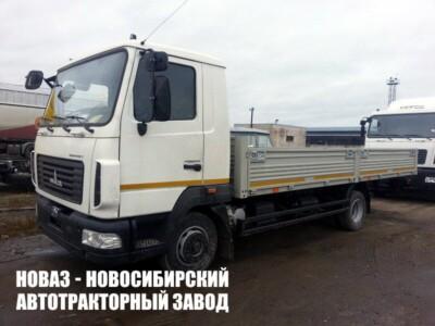Бортовой грузовик МАЗ 437121-540-000 с платформой 6300х2550х600 мм
